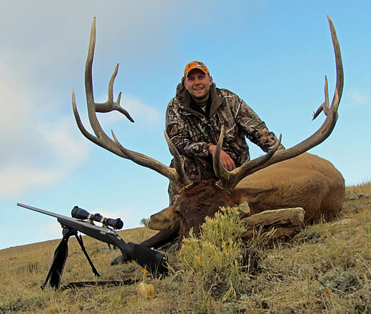 tyler sims mountain elk hunts photo