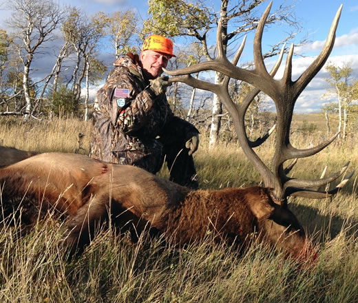 tyler sims riverbottom elk hunt photo 2